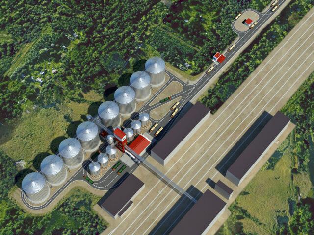 3D модель объекта. ГК «АВГ», г. Батайск, Ростовская область.